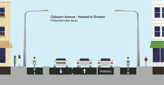 clybourn-protected-bike-lane