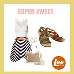super sweet style LEE shoes