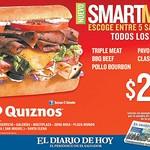 POLLO bourbon sandwich quiznos - 28ago14