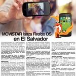 Movistar lanza Firefox OS en el salvador