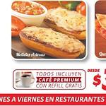 cafe premiun con refill gratis PIZZA HUT - 13ago14