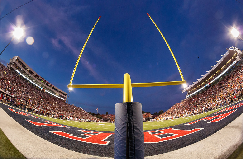 The New Field Goal Posts At Vaught Hemingway Stadium Flickr