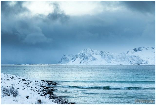 Het blauwe uurtje Bij Rørvik