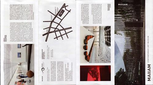 Brochure MAIIAM Contemporary Art Museum Chiang Mai Thailand 1