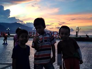 kids in palu, sulawesi