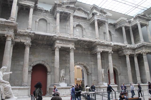6 museos de Berlín imprescindibles y diferentes: Puerta del mercado romano de Mileto
