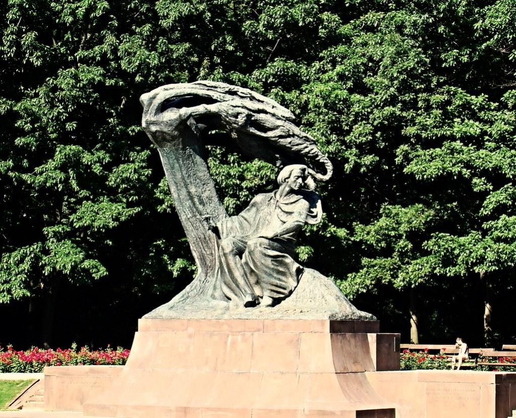 Varsovia Monumento de Fryderyk Chopin Polonia  14