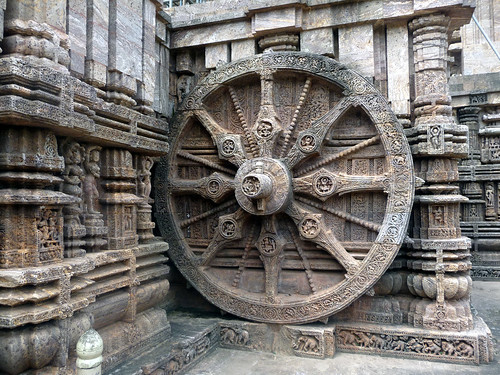 Wheels of Sun temple