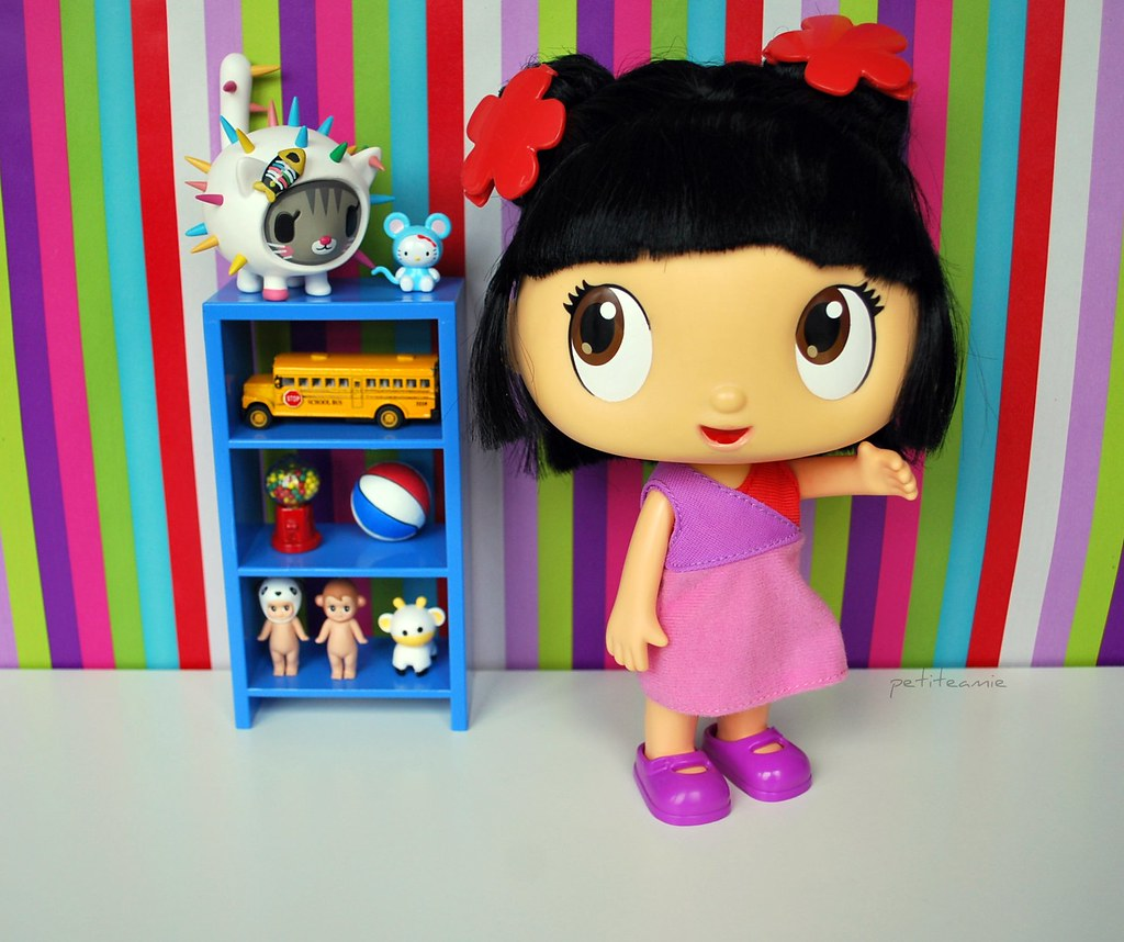 Why Hello Kitty My Toddler Got This Kai Lan Doll For A