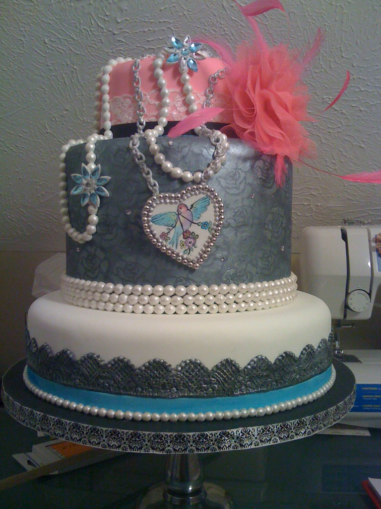 Rock N Roll Wedding Cake This Is A Dummy That I Made