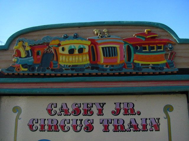 Casey Jr Circus Train Show