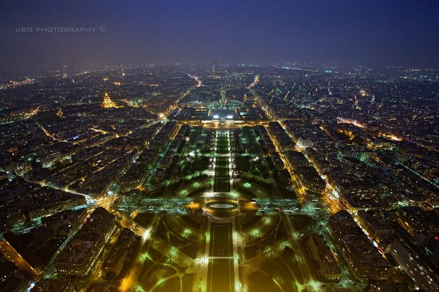 Plan Barón Haussmann, Paris Circuits