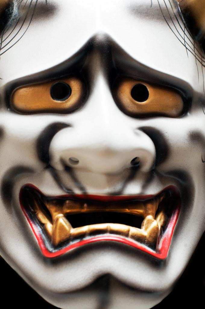 Kabuki Mask Better Viewed On Black Here Kabuki En