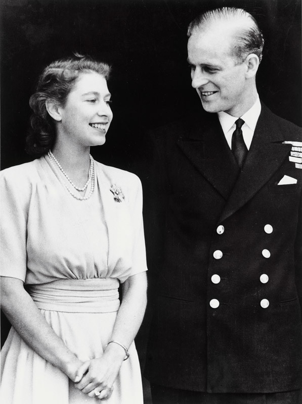 Engagement Of Princess Elizabeth And Lt Philip Mountbatten