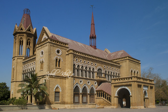Frere Hall Karachi 1865 Abdulah Haroon Road Raised In