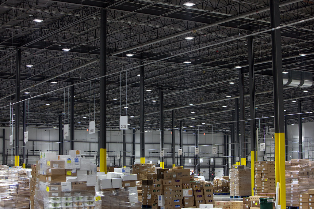Balzac Fresh Food Distribution Center Led Lights Flickr