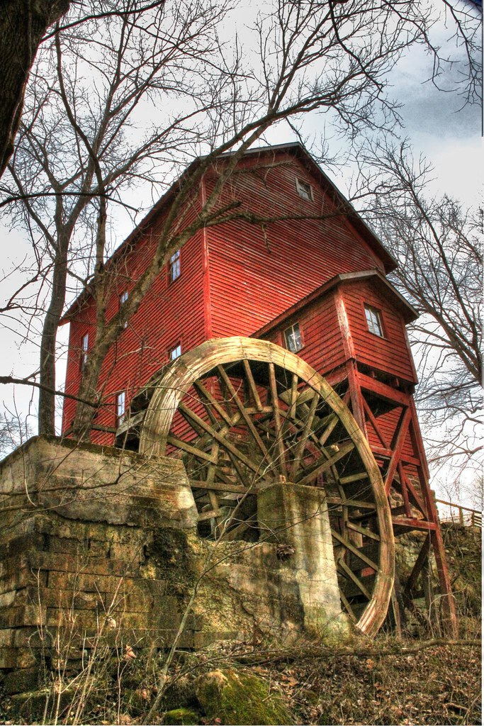 Old Grist Mills In Missouri