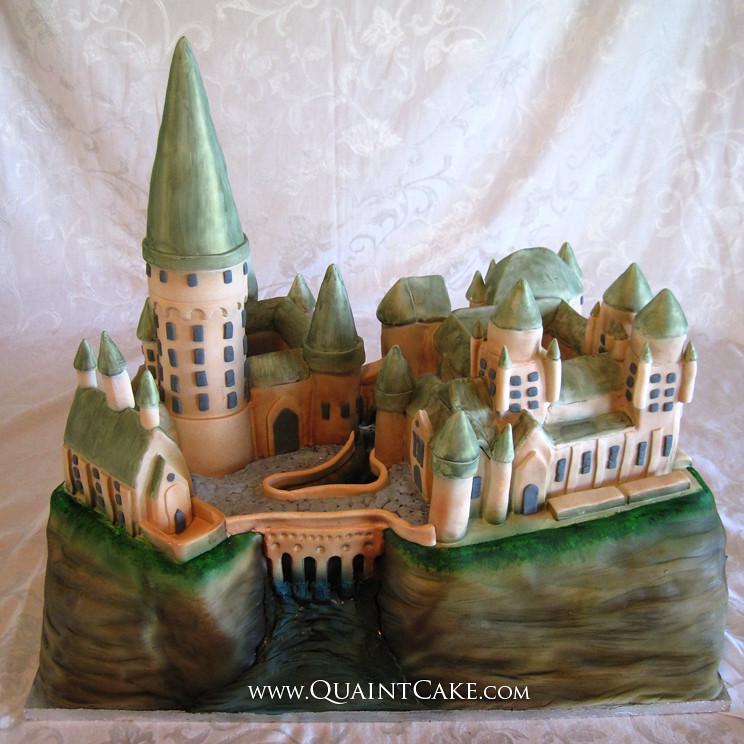 Harry Potter Hogwarts Castle Cake Quaintcake Flickr