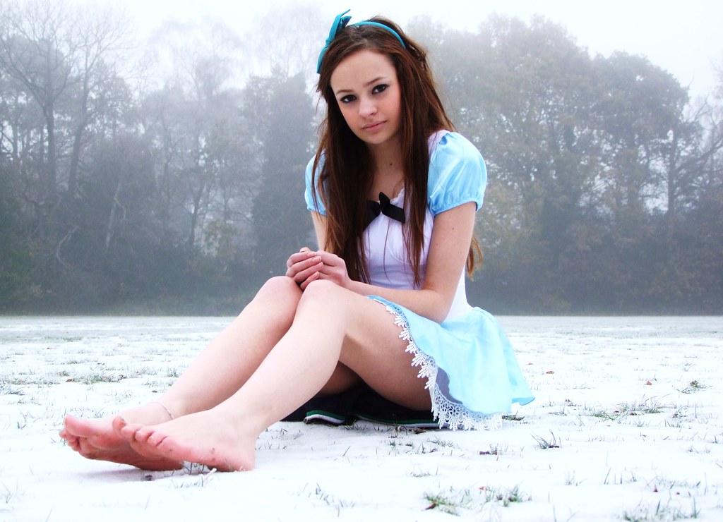 Alice Wonderland Alices Feet