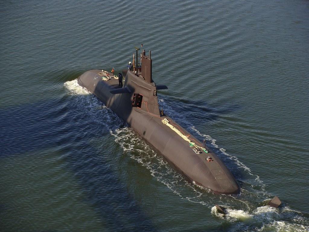 U34 S184 Class 212a German Submarine