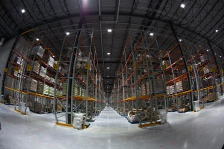 Balzac Fresh Food Distribution Center Concrete Floors Le
