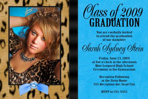 Custom Senior Invitations