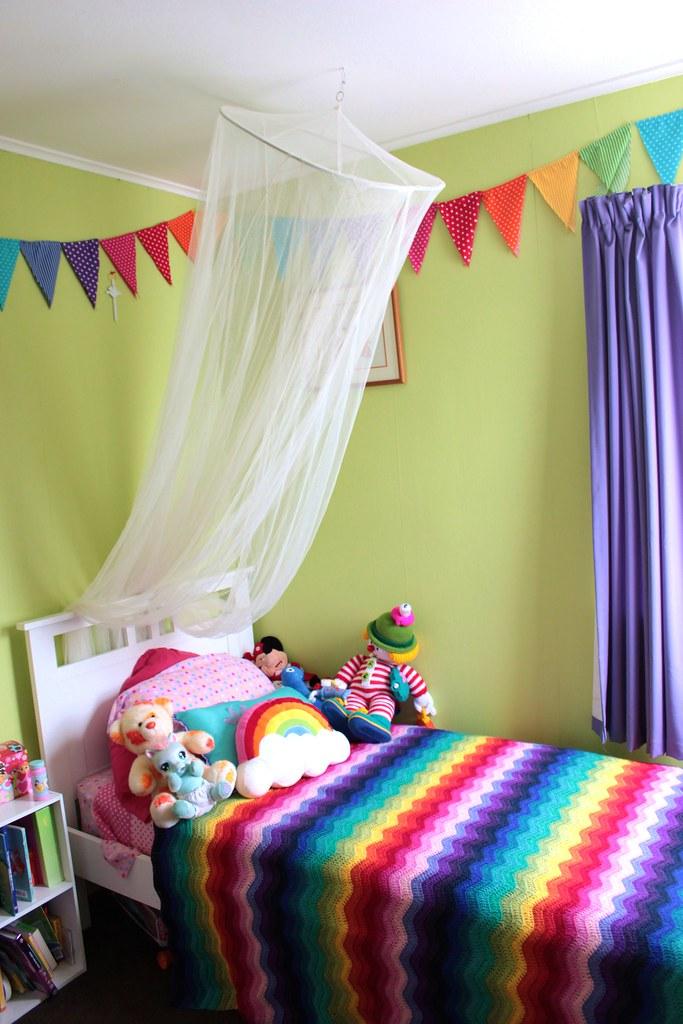 Rainbow Room In Progress My Wee Girls Room Is Slowly