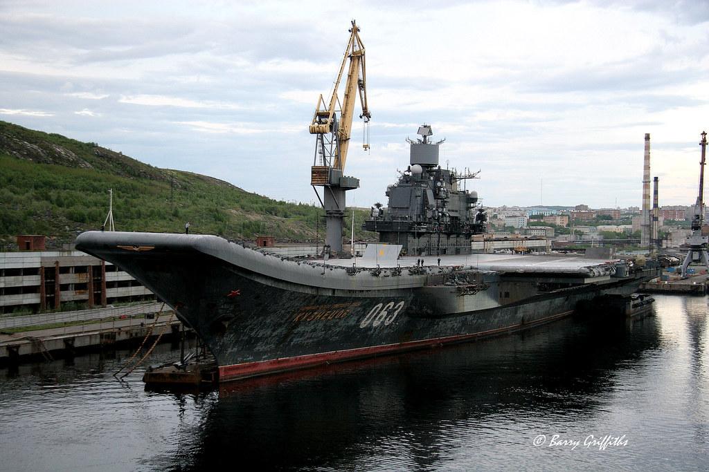 Russian Navy Aircraft Carrier