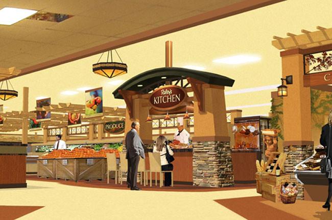 Interior Market Rendering Grocery Store Design Demonst Flickr