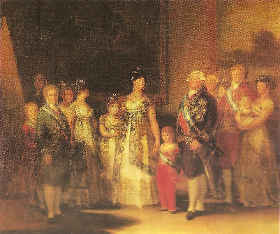 And Family Charles Spain I King