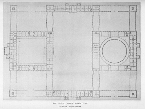 Whitehall Palace Plan Of Second Floor Other Title