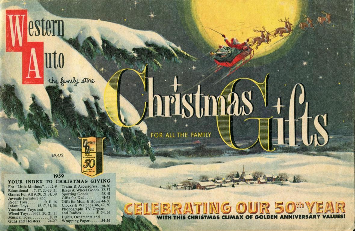 Western Auto Christmas Catalog - 1959