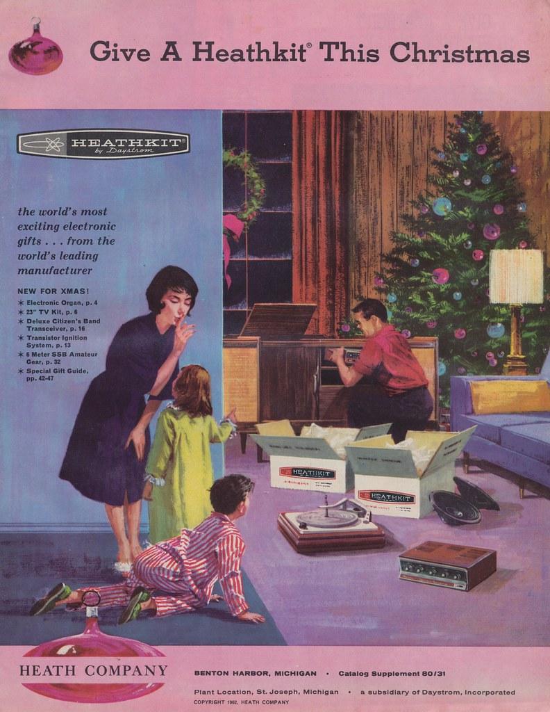 1962 Heathkit Christmas Catalog The Worlds Most