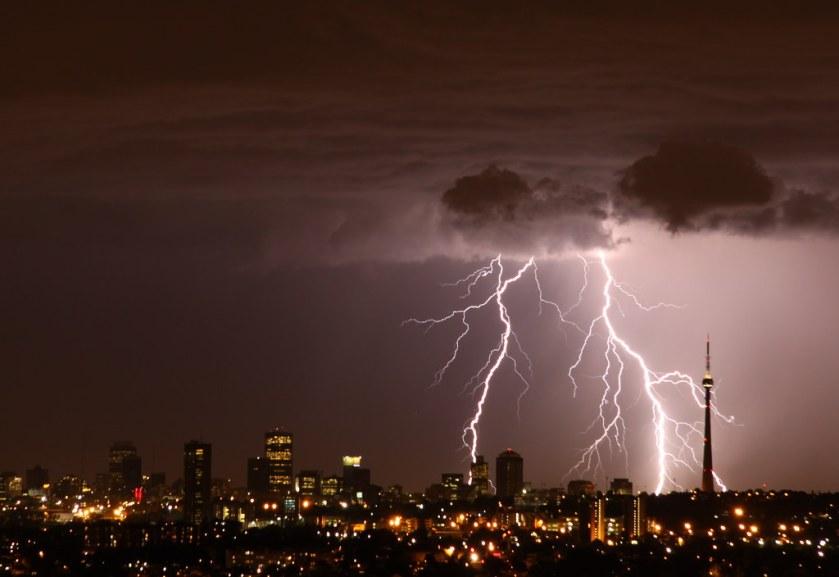 Storm In Johannesburg