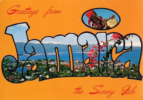 Greetings From Jamaica The Sunny Isle Large Letter Post
