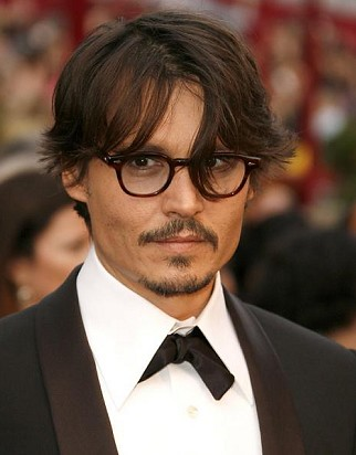 Johnny Depp Fashion Glasses Tortoise Tortoise Eyeglasses