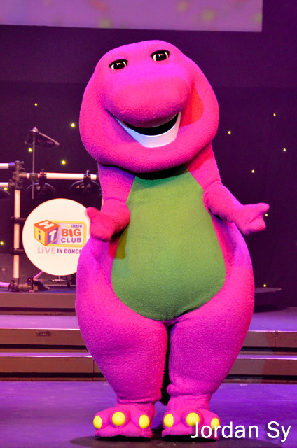 Flickr Barney Big Surprise