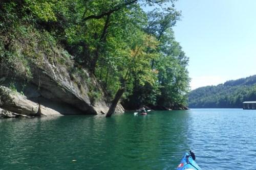 Lake Jocassee with Bennie Waddell-85