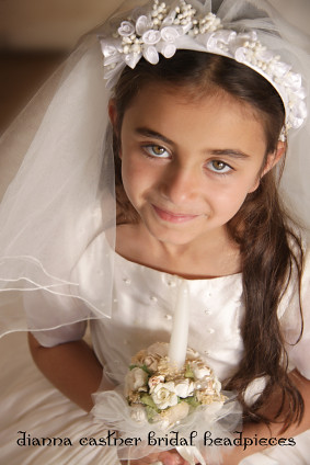 Communion And Flower Girl Wreaths Headbands Headpieces A