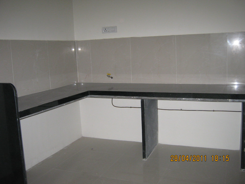 L Shaped Kitchen Platform