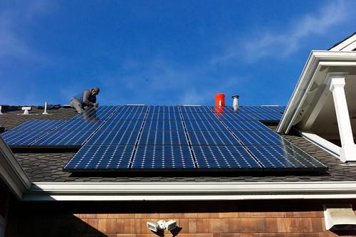 tech inovation for greener home, solar panels