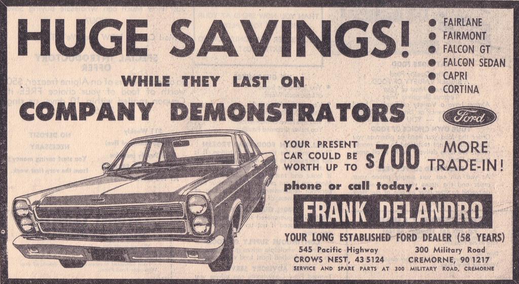 1970 Ford Zc Fairlane Ad Australia Covers The Runout