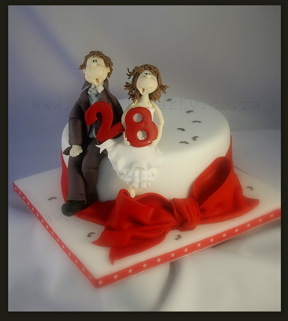 Happy 28th Anniversary I Made This For A Lovely Couple