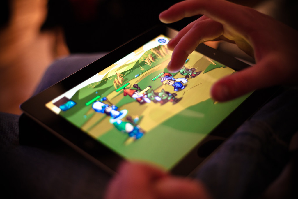 IPad Gaming Michael Nugent Flickr