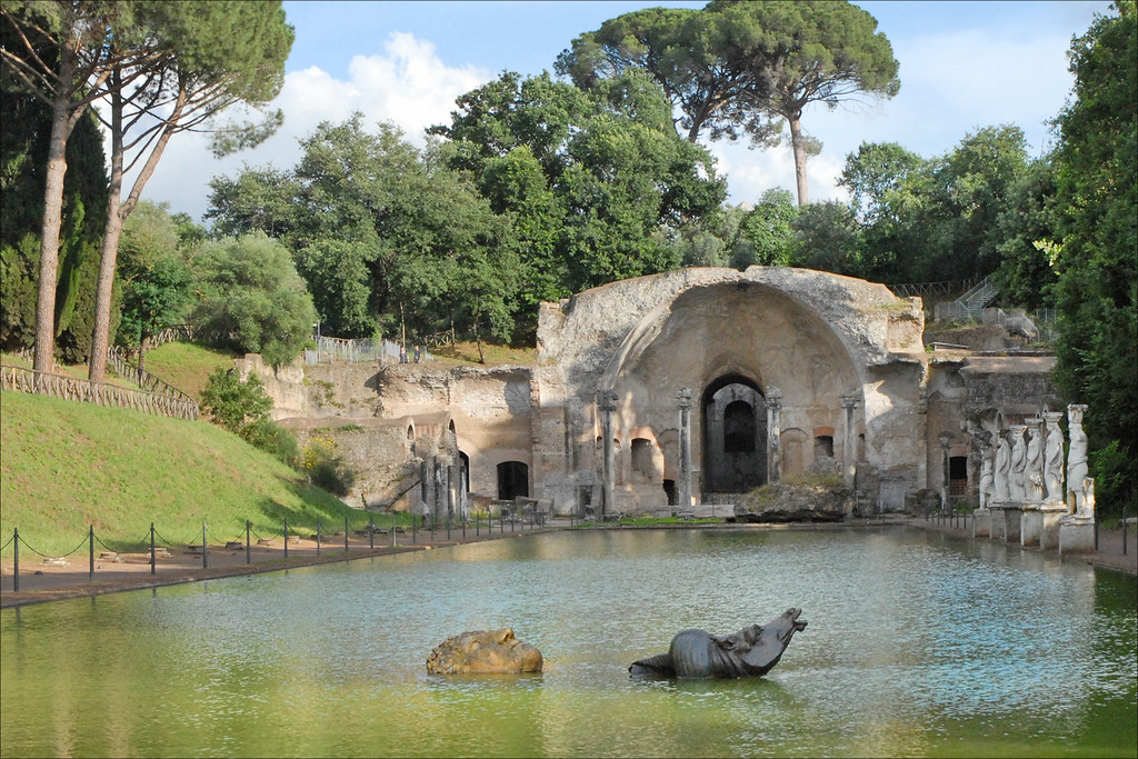 Le Canope Villa Adriana Tivoli Le Nymph 233 E Et Les