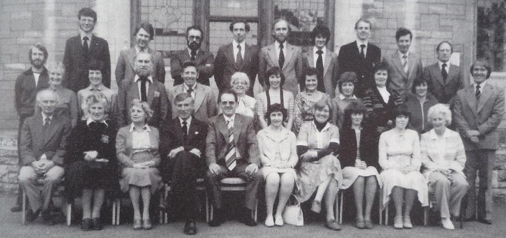 The Staff Of Fitzmaurice Grammar School Bradford On Avon