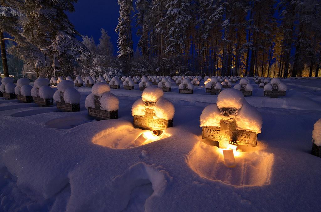 Kontiolahti War Casualties Graveyard Finnish World War