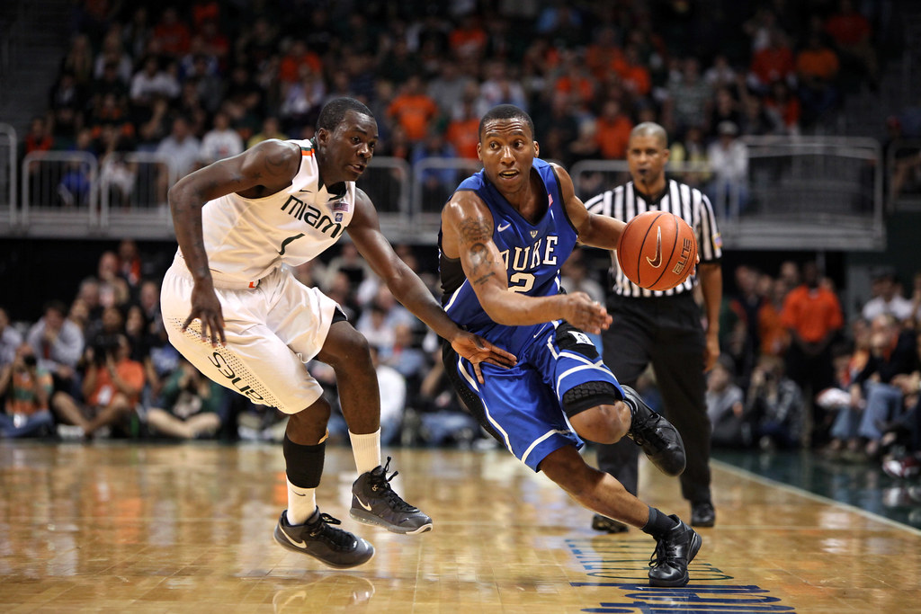 NCAA BASKETBALL 2011 FEB 13 Miami Hurricanes At Duke B