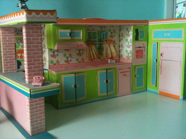 1964 Barbie Dream Kitchen Dinnette Flickr Photo Sharing