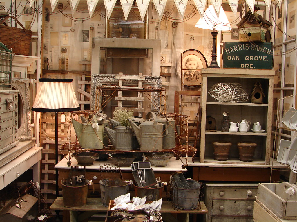 Antique Store Booth Wall Ideas
